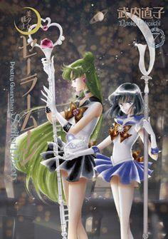 Japanese 3rd Gen Sailor Moon Manga Vol 7 http://www.moonkitty.net/reviews-buy-sailor-moon-third-gen-kanzenban-manga.php #SailorMoon