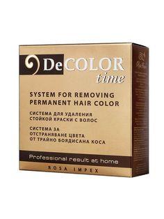 Sistem pentru indepartarea vopselei permanente Color Time - Formula avansata ce permite indepartarea culorii parului colorat cu vopsea permanenta, pastrand totodata pigmentul natural al parului. Hair Colors, Books, Libros, Book, Haircolor, Book Illustrations, Hair Color, Libri