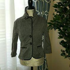 Dark grey blazer Dark grey blazer with side zippers Rampage Jackets & Coats Blazers