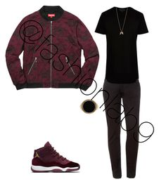 """Aries men"" by fashionlab9 on Polyvore featuring LE3NO, River Island, Balenciaga, Minor Obsessions, men's fashion and menswear"