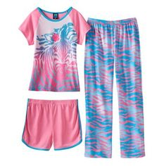 Jelli Fish Graphic Pajama Set - Girls 4-16