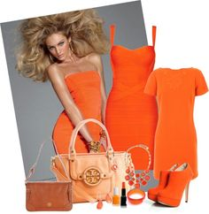 """Brighten Up Your Monday Blue to Orange!"" by admin-2 on Polyvore"