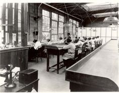 The Radium Girls were factory workers with radiation poisoning from painting watch dials with glow-in-the-dark paint at the United States Radium factory in Orange, New Jersey around 1917. The women were told the paint was harmless & encouraged to lick their paint brushes to keep them sharp.of radium  5 women challenged their employer in a court case that established the right of workers with occupational diseases to sue their employers. (Radium Girls at work in a US Radium Corporation…