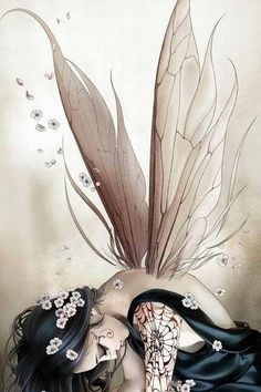 I've always been so interested In fairies there so mystical and beautiful they remind be of freedom and love and inpowerment