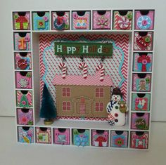 Advent Calendar  Happy Holiday by MyLilPumpkins on Etsy, $105.00