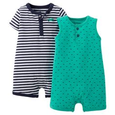 Just One You�Made by Carter's� Newborn Boys' 2 Pack Romper Set