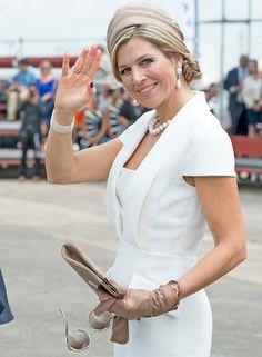 King Willem-Alexander and Queen Maxima visits Aruba for Sail Aruba 2015