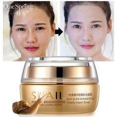 Cheap snail extract, Buy Quality instantly ageless directly from China face cream Suppliers: Snail Extract Face Cream Essence Repair Cream Shea Moisture Whitening Facial Treatment Instantly Ageless Skin Care ONESPRING Psoriasis Treatment Cream, Skin Care Treatments, Facial Treatment, Best Skincare Products, Best Face Products, Whitening Cream For Face, Skin Whitening, Skin Brightening, Face Care