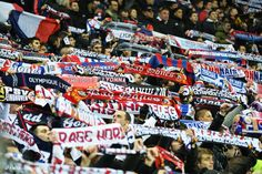 Supporters of Olympique Lyonnais