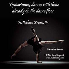 Opportunities on the dance floor! http://www.theballetblog.com/