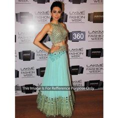 Karisma Lakme Fashion Net Weightless Bollywood Dress
