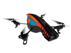 Back in stock Parrot AR.Drone 2.0 Quadricopter Controlled by iPod touch, iPhone, iPad, and Android Devices -Orange/Blue