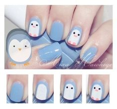 diserño corta cortas Faciles de Hacer En CASA 2018 For many of us, the lasting charm of nail art is that we can express our pleasures (no matter how wild or repressed) without the. Kawaii Nail Art, Cute Nail Art, Easy Nail Art, Cute Nails, Girls Nail Designs, Simple Nail Art Designs, Baby Nails, Girls Nails, Kid Nails