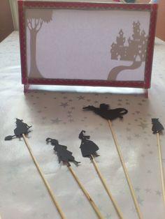 Théâtre d'ombres chinoises