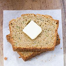Moist, dense, and perfectly tender, no one will guess this quick bread is packed with zucchini and is also completely gluten-free.