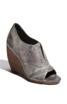 oxford peep toe wedges?! all things I love!