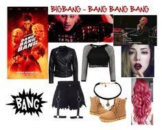 """""""BIGBANG - BANG BANG BANG (Taeyang)"""" by kariina-sykes ❤ liked on Polyvore featuring Sisters Point"""