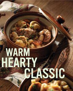 Hearty Tuscan Stew #recipe.