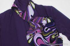 Baby Lock's National Serger Month, 20-Minute scarf by Nancy Zieman