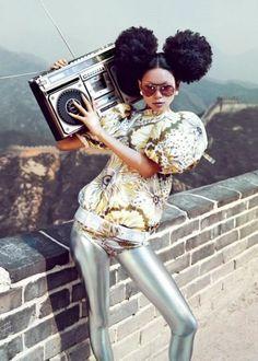 #Afrohairstyles #afrohairdo #lesdoitmagazine