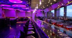Enjoy a low-key, high-style evening at Galaxy Bar at #Hilton Athens. With entrancing lighting and tantalizing drinks, you'll come back time and again.