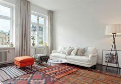 Muy chula composición de alfombras ¿se estarán descolocando todo el rato?