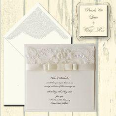 Silver Pearl Wedding Invitation Invites Pinterest Pearls And Invitations