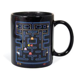 Amazon.com: Pac-Man Heat Change Mug: Kitchen & Dining