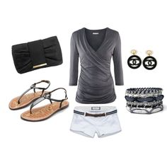 Black&Grey., created by khadijah-fennell.polyvore.com