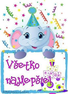 Blahoželanie Elephant Party, Princess Peach, Good Morning, Snoopy, Children, Fictional Characters, Buen Dia, Young Children, Boys