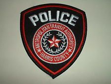 Harris County Transit Authority Police patch Texas