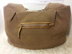 THE SAK woven beige large slouchy satchel style hobo hand bag shoulder bag purse | Clothing, Shoes & Accessories, Women's Handbags & Bags, Handbags & Purses | eBay!