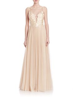 Basix Black Label - Illusion Tulle Gown