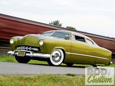 1949 Ford Sedan, custom front bumper