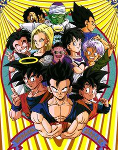 1994 Calendar Dragon Ball Z (cover) published by Toei Animation / Studio Bird… Dragon Ball Z, Goku Y Vegeta, Son Goku, Geeks, Anime Echii, Manga Dragon, Db Z, Dbz Characters, Manga Comics