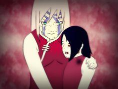 Sakura and Sarada Uchiha by Ahriiah.deviantart.com on @DeviantArt