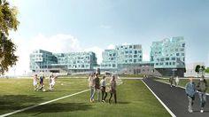 Copenhagen International School – Nordhavn by C.F. Møller Architects.