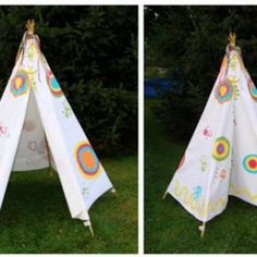 Summer Sewing ~ Childs Tent