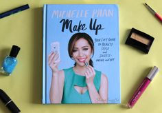Make Up By Michelle Phan is a book all about make up, and so much more. Learn about #fashion, manners, your online presence, and success.  Great for #teens and #youngadults #book #makeup #howto