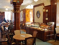 Cafe Tomaselli Salzburg - Mozart's Favorite Coffee House hang out