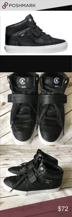 b7a73fa30b Spotted while shopping on Poshmark  Vans - Crooks   Castles Leather Shoe!