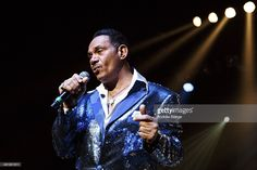 Ronnie McNeir of The Four Tops performs on stage at First Direct Arena on April 1, 2014 in Leeds, United Kingdom.
