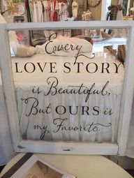 Get a big frame and use stickers to press on glass with saying or quote that youd like to use. Then just dont put the backing on the frame and hang on wall! This would be super cute for the open closet area in the foyer.