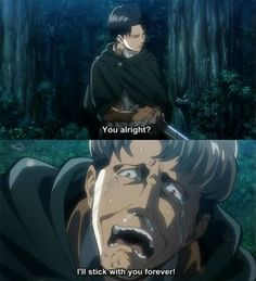 Just look at Levi's face... It is breathtaking...
