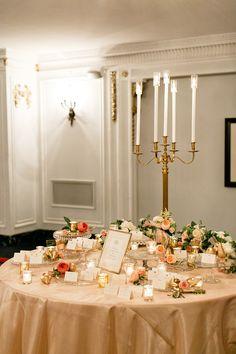 Photography: Kina Wicks - www.kinawicks.com  Read More: http://www.stylemepretty.com/2014/05/28/elegant-renaissance-blackstone-hotel-wedding/