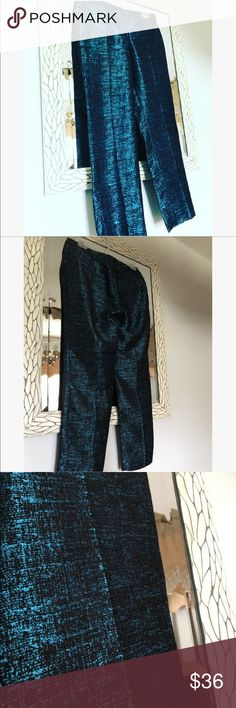 [Express] editor metallic trousers Excellent condition size 0R Express Pants Ankle & Cropped