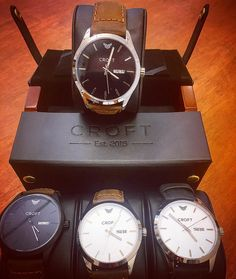 Today's orders being sent out from the CROFT office. #croftwatches #watchfam #MyAdventureMyStyle #london #office #monday