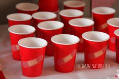Doctor themed party cups