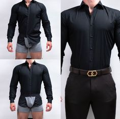 Keep your shirt tucked in easily with these amazing boxer briefs from Tucked Trunks! Tucked Trunks is an underwear to keep your shirt tucked in. Mens Fashion Suits, Mens Suits, Men's Fashion, Fashion Shirts, Best Suits For Men, Cool Suits, Stylish Men, Men Casual, Casual Styles
