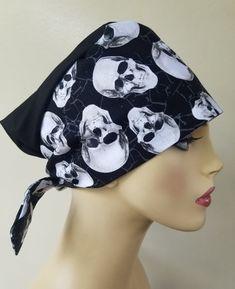 Halloween Scrubs, Scrub Caps, Tie Backs, Hats For Women, Pixie, Awesome, Cute, Fabric, Prints